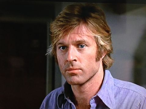 Robert Redford as the Condor.